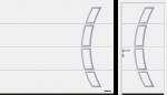 L rievojums (LPU 67 Thermo, LPU 42), motīvs 457, klasiski balts RAL 9016