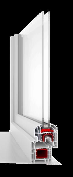 PVC logi aluplast 4000