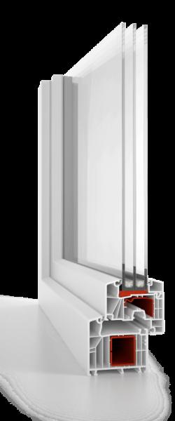 PVC logi aluplast 7000