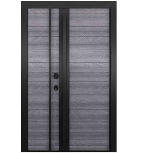 Aluminija durvis Domani 100 peleks 2 dalu